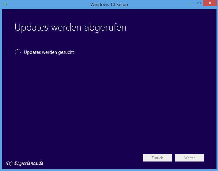 Windows 10 Upgrade mit Tool