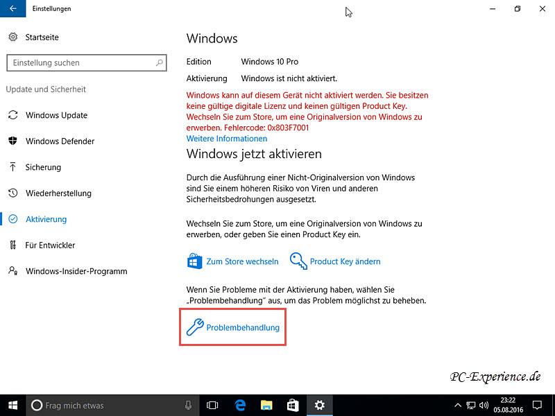 PC-Experience Windows 10, Tipps und Tricks:   Windows 10