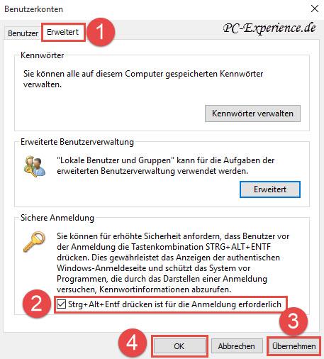 benutzer und gruppenverwaltung windows 10
