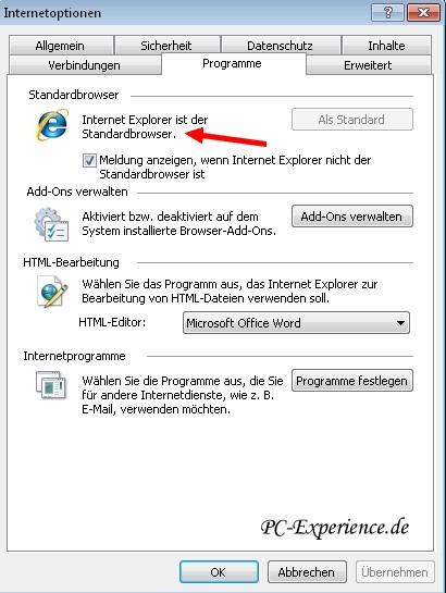 windows mail links lassen sich nicht öffnen
