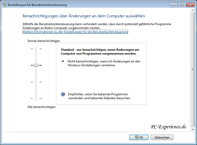 Uac Windows 7 Für Ein Programm Deaktivieren