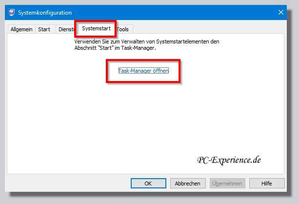 sauberer neustart windows 10