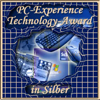 PC-Experience Award in Silber