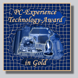 der PC-Experience Award in Gold
