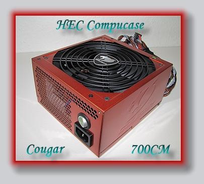 PC-Experience Reviews: | Compucase Cougar 700CM Netzteil