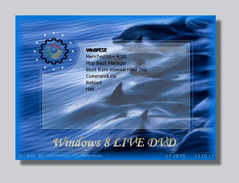Windows 8 Live-DVD