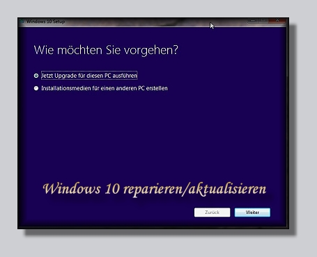 Windows 10 reparieren