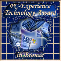 PC-Experience Award in Bronze