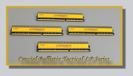 Crucial Ballistix Tactical LP Series DDR3L-1600 32 GB Kit