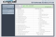 Crucial Storage Executive SSD Tool